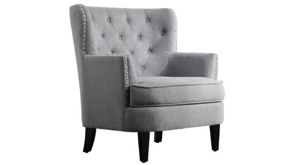 Wayfair Laurel Foundry Modern Farmhouse Ivo 30-inch Wingback Chair