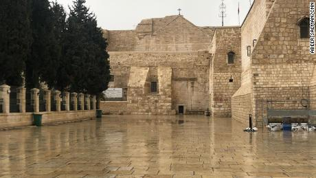 The Church of the Nativity, regarded as the birthplace of Jesus, is closed over fears of coronavirus.