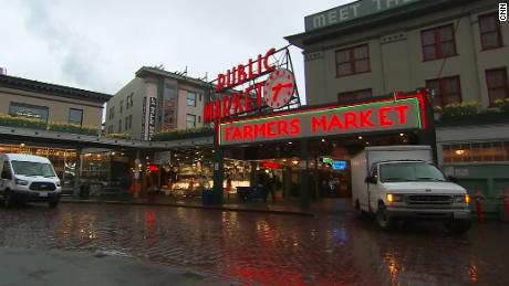 In the middle of a coronavirus outbreak, people of Seattle adjust to changes