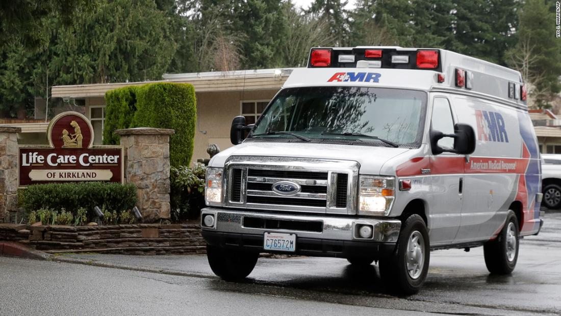 This nursing home is at the center of Washington's coronavirus. Here's what one first responder saw there thumbnail