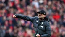 Liverpool a avut nevoie de încă trei victorii pentru a câștiga Premier League engleză înainte de suspendarea fotbalului englez.