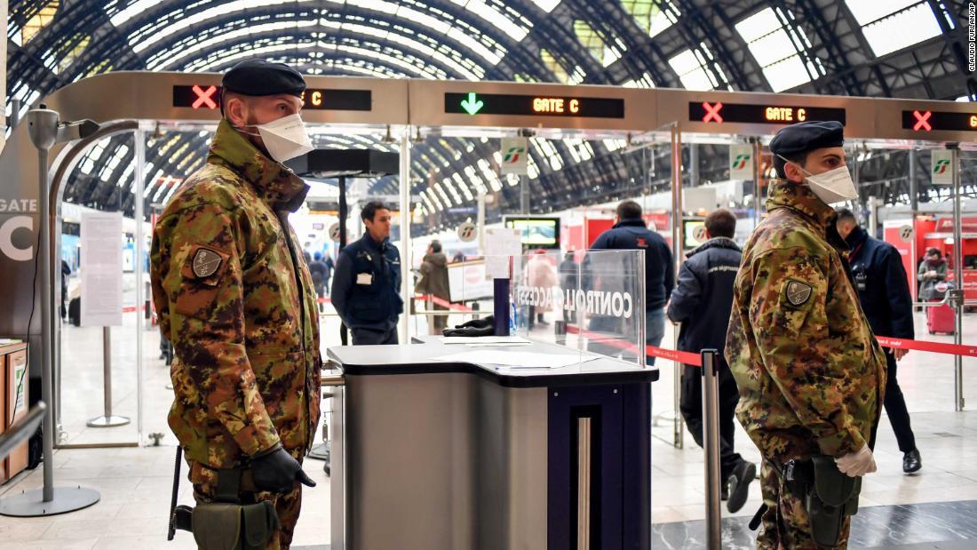 As Coronavirus Cases Rise All Of Italy Is In Lockdown Cnn