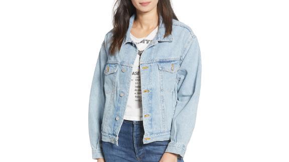 Agolde Charli Oversize Denim Jacket