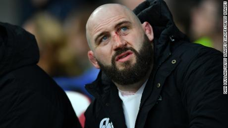 Joe Marler has played over 60 times for England.