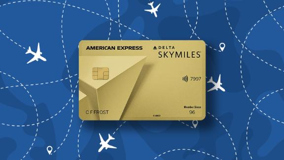 The Delta SkyMiles Gold credit card.