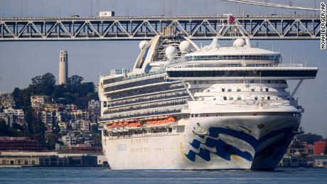 A couple still aboard the Grand Princess cruise ship is suing Princess Cruise Lines for $1 million over its handling of coronavirus