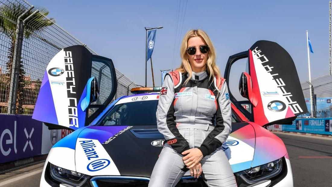 Formula E is 'literally the future,' says Ellie Goulding