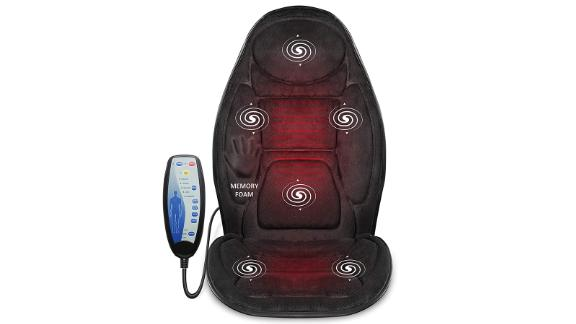 Snailax Memory Foam Massage Seat Cushion