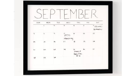 Wayfair Dotted Line Holden Wall Mounted Calendar Board