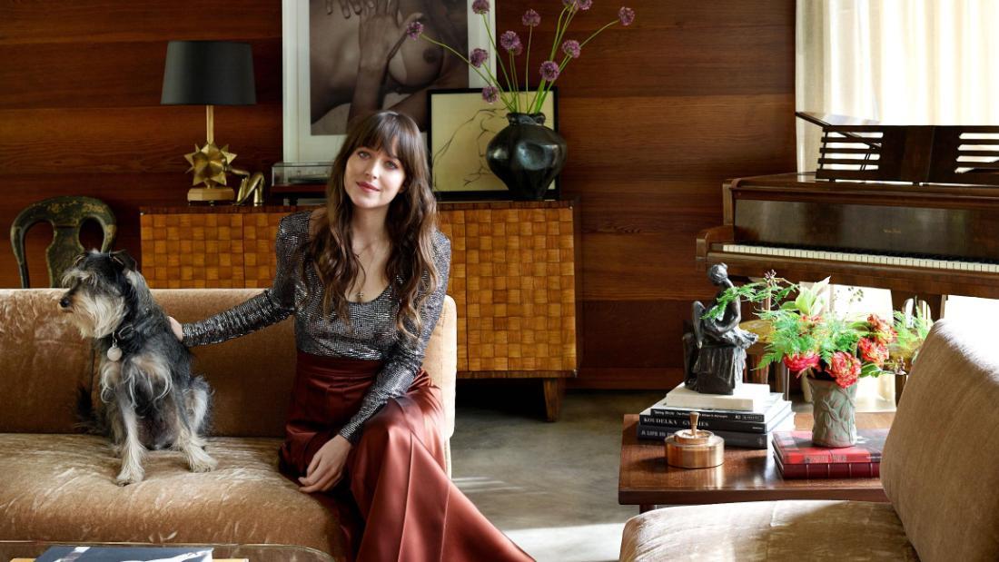 Dakota Johnson's elegant LA  home is fit for Hollywood royalty
