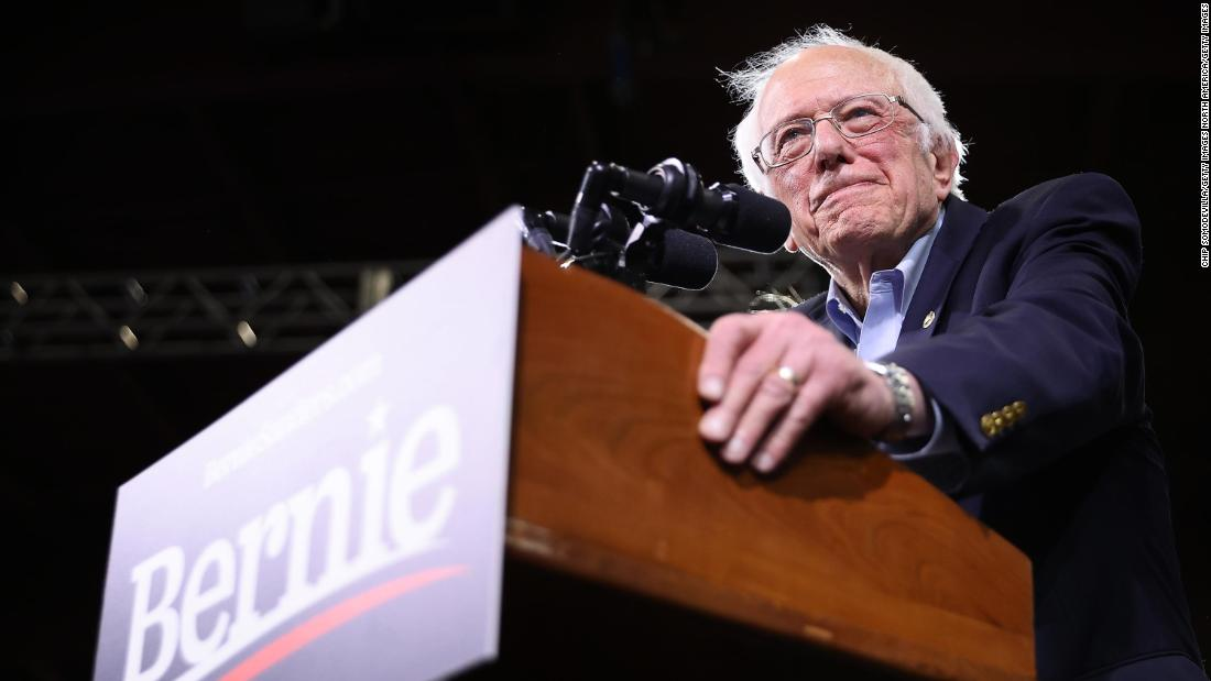Bernie Sanders drops out of the 2020 race clearing Joe Bidens path to the Democratic nomination