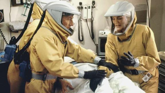 """A scene from the 1995 film """"Outbreak."""""""