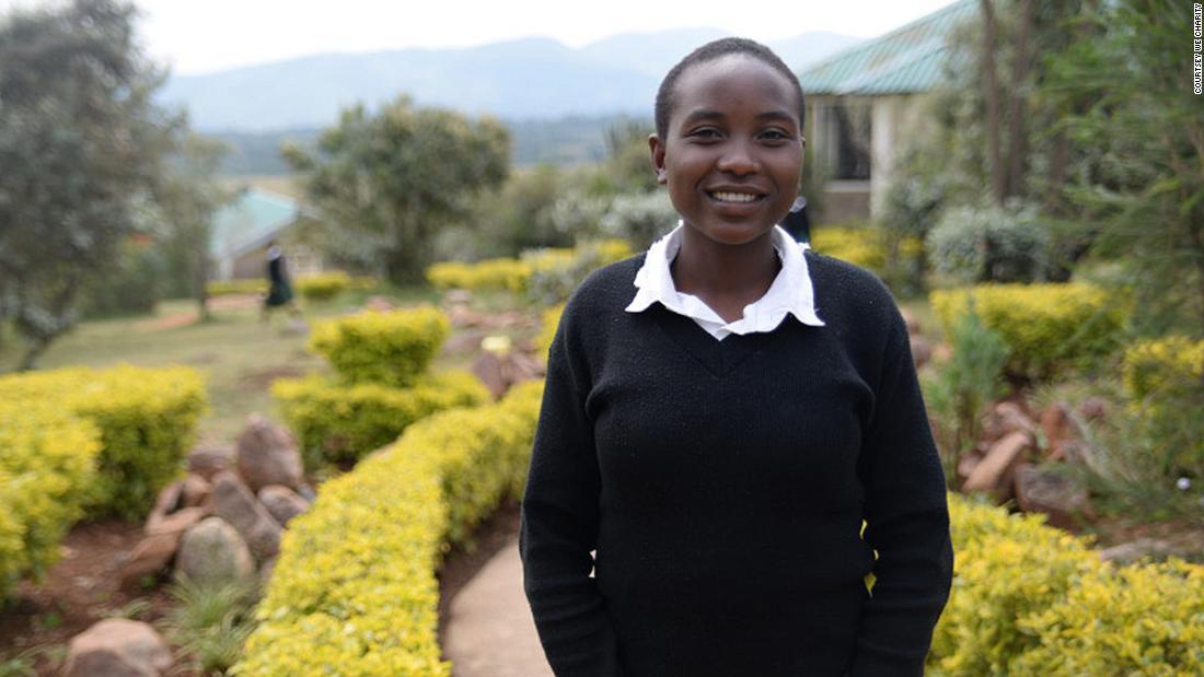 Sie überzeugte Ihre Familie, die Schule besser war als Kind der Ehe