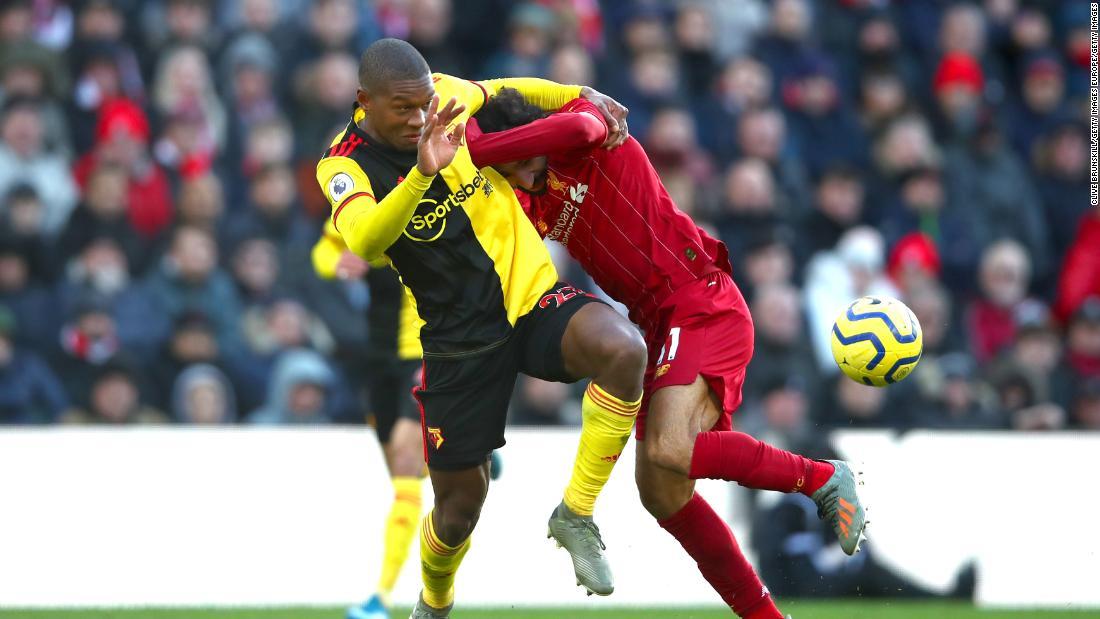 Watford's Christian Kabasele: How we beat Liverpool