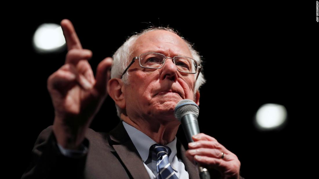 Bernie Sanders gewinnt Demokraten im Ausland primären