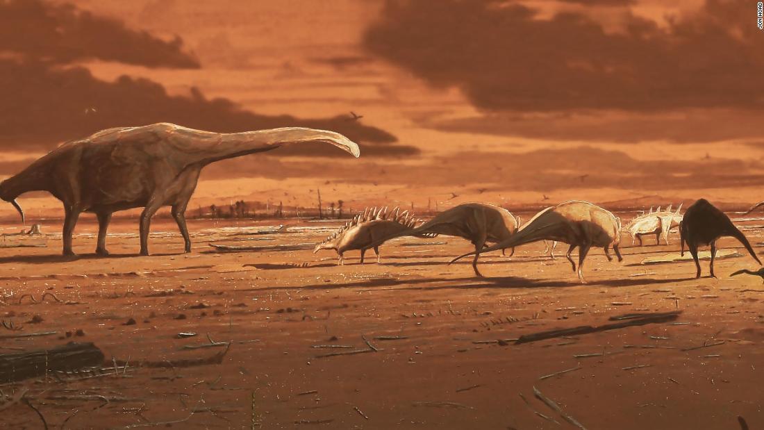 Footprints reveal that stegosaurs once stepped across Scotland thumbnail