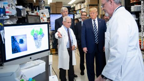 How Dr. Anthony Fauci became Trump's coronavirus truth teller