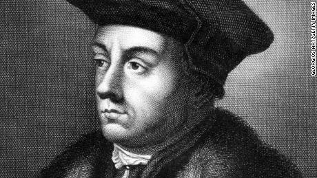 Thomas Cromwell (1485-1540) on engraving from 1859.