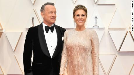 Tom Hanks and Rita Wilson diagnosed with coronavirus