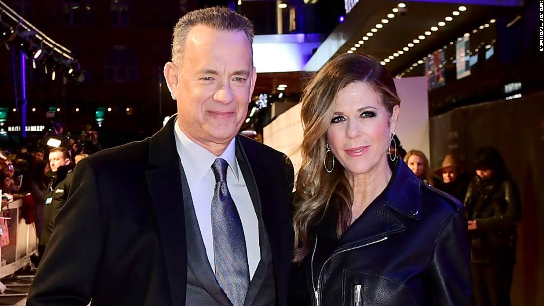 In der Krise, Tom Hanks ist eher ein Vorbild, als Donald Trump