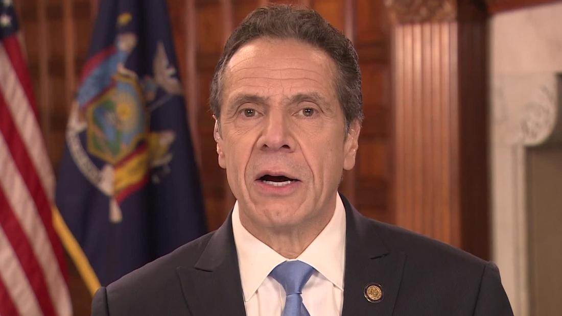 New York governor: US is way behind on testing