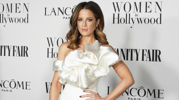 Someone left Kate Beckinsale a rabbit. (Photo by Presley Ann/Getty Images)