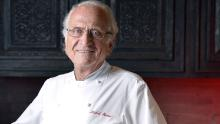 Picture of chef Michel Roux at Four Seasons Hotel, Central. 15OCT12 (Photo by Warton Li/South China Morning Post via Getty Images)