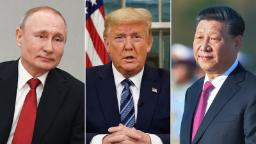 Putin and Xi are using the coronavirus crisis to extend their control. Across the world, Trump is struggling to keep up