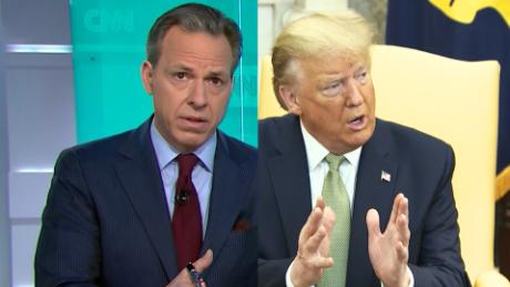 Jake Tapper: Trump continues to lie about testing