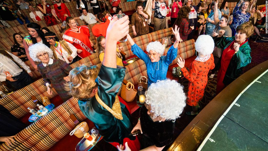 'Golden Girls'-themed cruise sailed on cusp of global pandemic