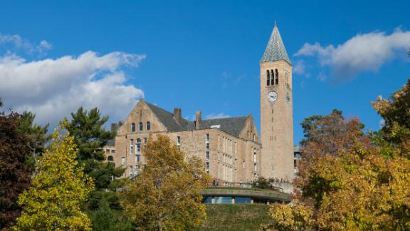 Cornell University is asking students to leave campus when spring break starts and finish the rest of the semster online.