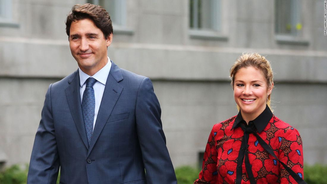 Justin Trudeau's wife tested positive for coronavirus