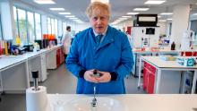 Boris Johnson unveiled his government's economic plan on Tuesday after facing initial criticism over his coronavirus response.