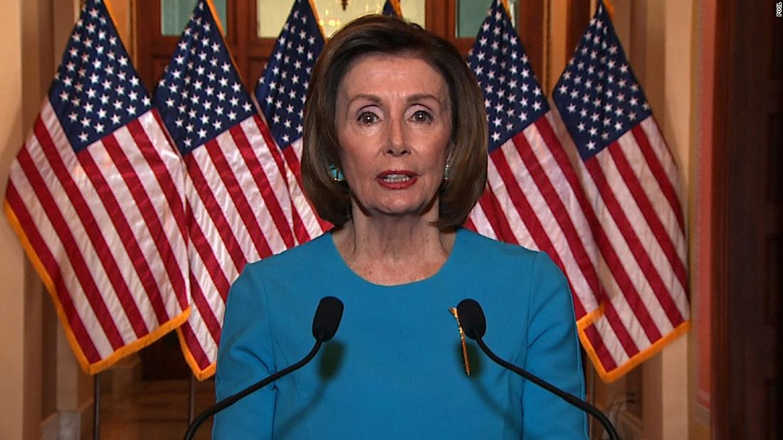 Nancy Pelosi begins talk of next coronavirus relief bill as she tells House Democrats to 'recognize the good' in stimulus thumbnail
