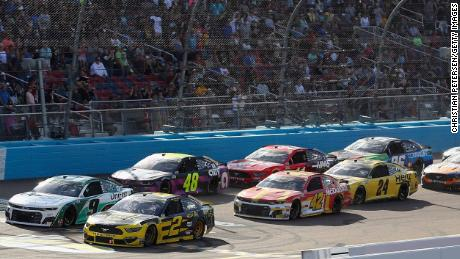 NASCAR's most recent Cup race was in Phoenix on March 8.