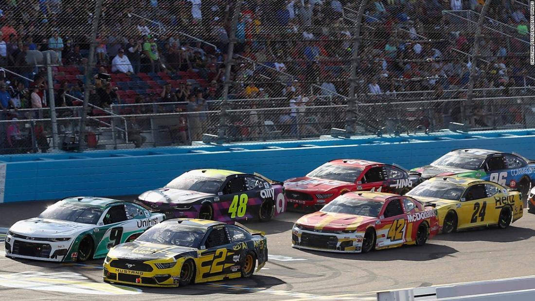 NASCAR wird nicht wieder fahren, bis Anfang Mai
