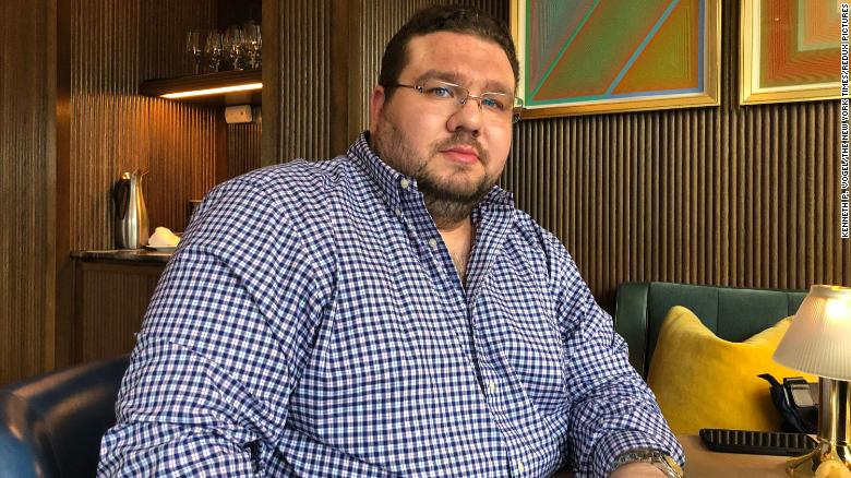 Andrii Telizhenko, a former Ukrainian official, who has become involved in Republican efforts to pursue Joe Biden.