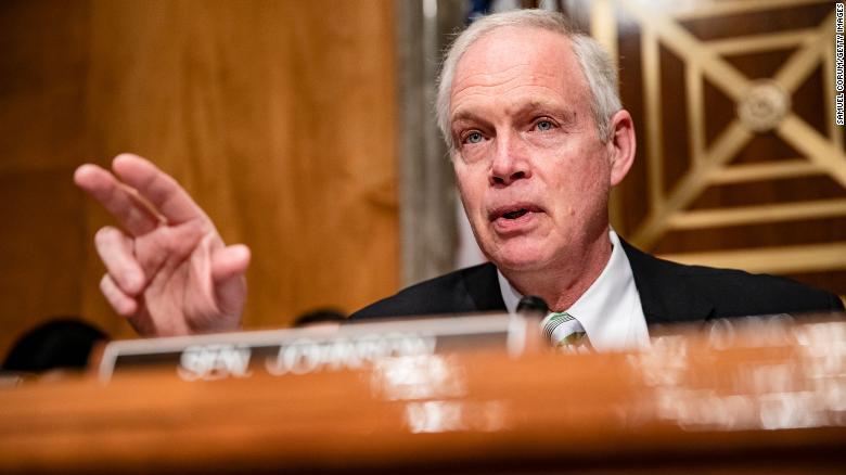 Sen. Ron Johnson, chairman of the Senate Homeland Security Committee.