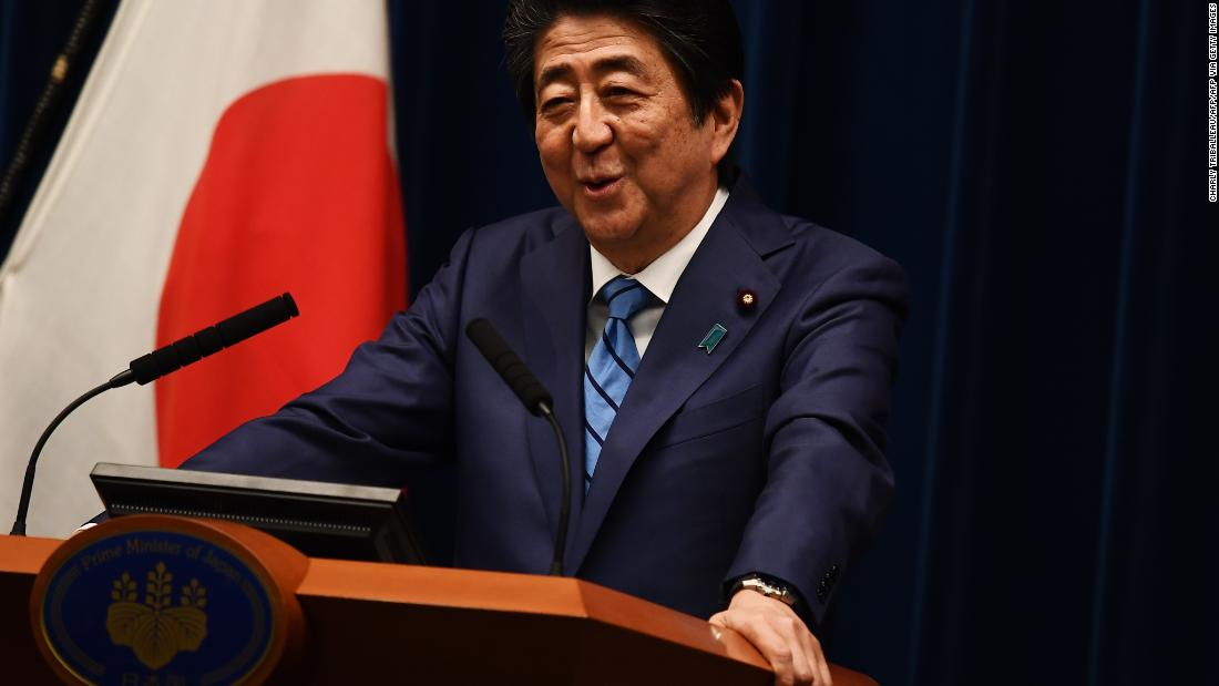Japanese PM Abe insists Tokyo Olympics will go ahead
