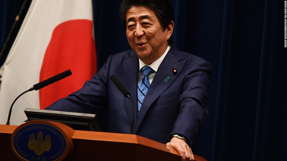 Η ιαπωνική ΜΜ Abe επιμένει Τόκιο Το 2020 Ολυμπιακούς αγώνες για να προχωρήσει όπως έχει προγραμματιστεί