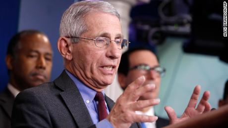 US could see millions of coronavirus cases and 100,000 or more deaths, Fauci says