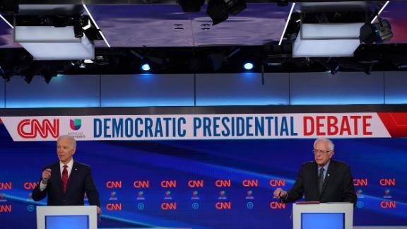 Image for 5 takeaways from the Biden vs. Sanders debate