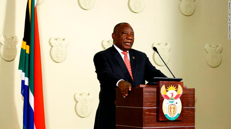 South African President announces extension of Covid-19 restrictions, closes land borders