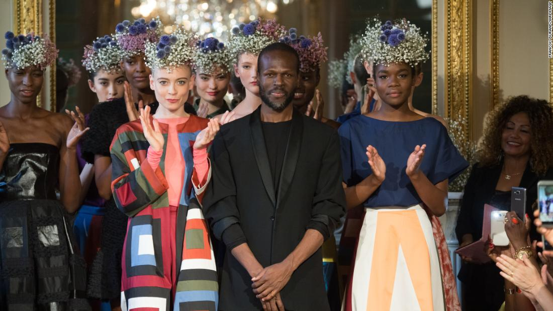 The pioneering Cameroonian designer taking on haute couture