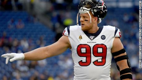 JJ Watt and Kealia Ohai donate $350,000 to foodbank amid coronavirus outbreak