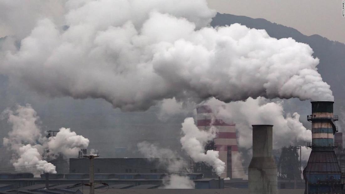 China pollution cleared coronavirus