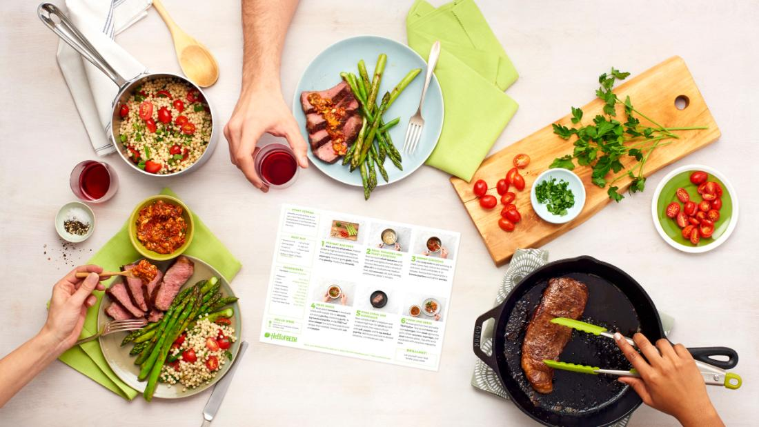 Sick of cooking? These meal delivery services will keep you eating well