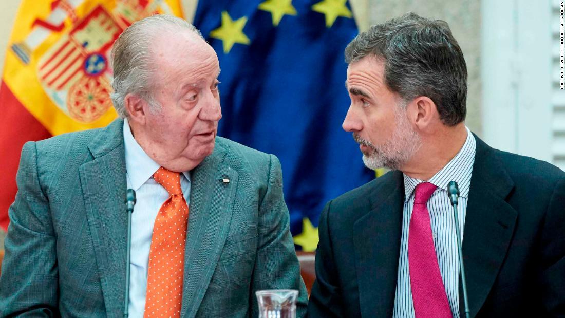 Spain's King Felipe VI renounces his inheritance