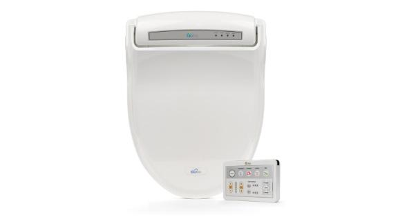 bioBidet Supreme Electric Bidet Seat for Elongated Toilets in White