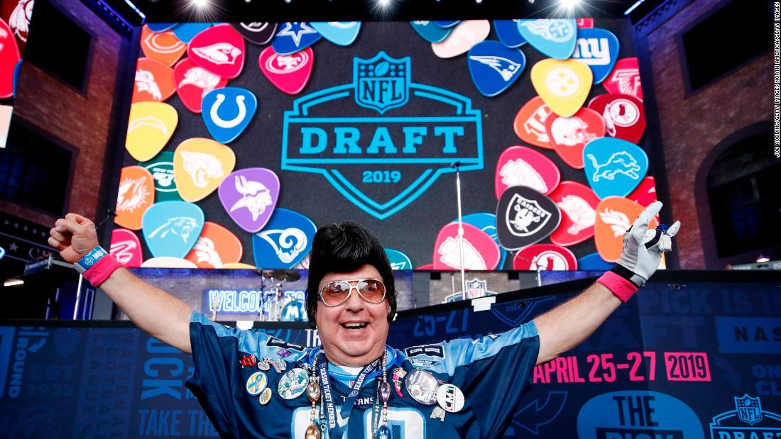 NFL's 2020 draft will be an event like no other